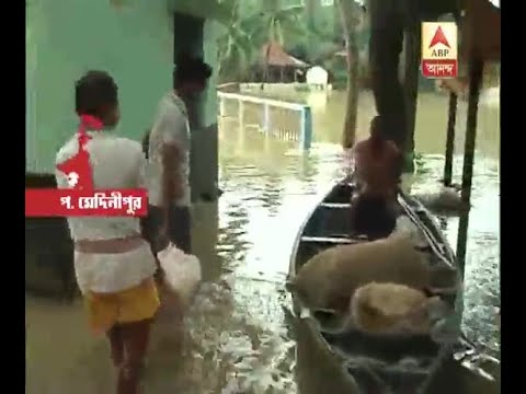Rain stops but flood situation at Ghatal and Daspur does n