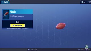 "Fortnite *FREE* ""PIGSKIN"" New Toy!!! (Item Shop - 03/02/2019)"