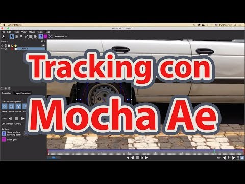 Tracking en After Effects con Mocha