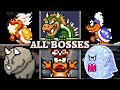 Super Mario World - All Boss Fights & Ending (No Damage)