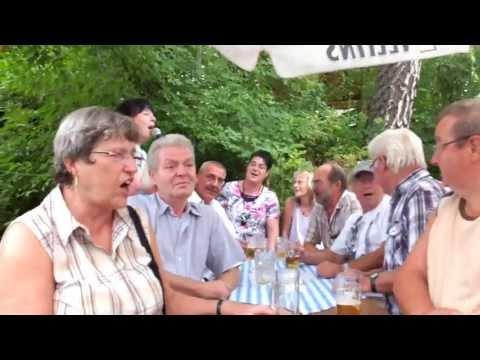Das Lied Mein Waldeck. Heidi Hedtmann. Biergartenfest Netze 2013.