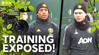 Training Exposed! | Man United vs AZ Alkmaar | Bushcam Feat. Pundit Jay