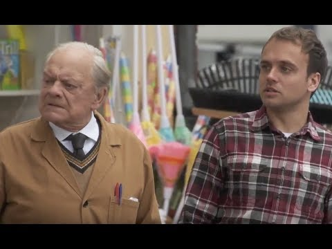 David Jason & James Baxter spotted filming series 4 of Still Open All Hours.
