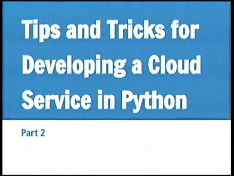 Building a Cloud Service with Python