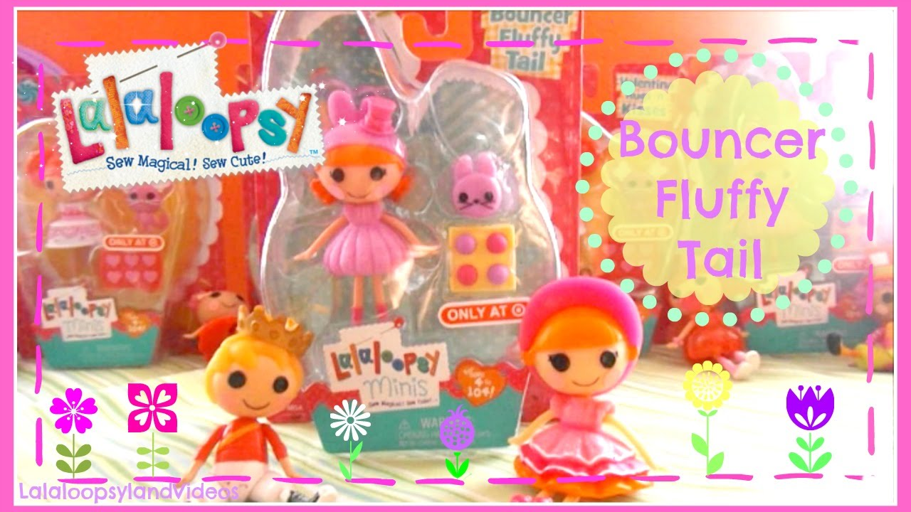 Mini Lalaloopsy Bouncer Fluffy Tail Spring 2015 Exclusive