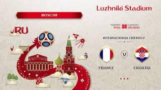 Franciaország   - Horvátország  Világbajnoki Döntő  Mérkőzés  (FIFA 18)