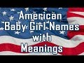American Baby Girl Names with Meanings