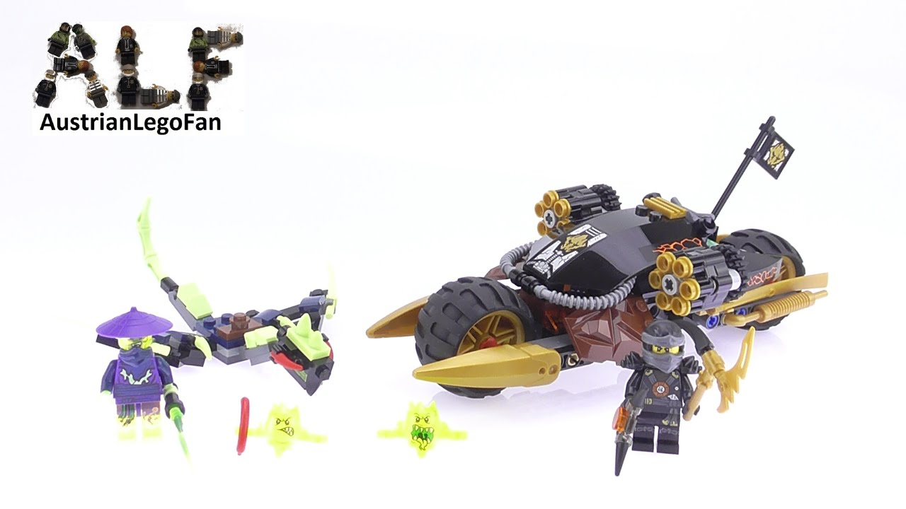 Review Speed Blaster 70733 Build Lego Donner Bike Ninjago Cole's zGVUqjSMLp