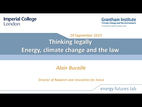 Thinking legally: energy, climate change and the law