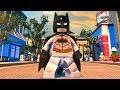 LEGO DC Super-Villains - Batman - Open World Free Roam Gameplay (PC HD) [1080p60FPS]