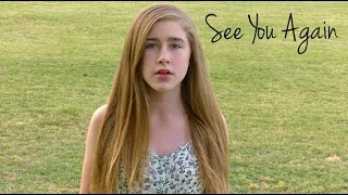 """""""See You Again"""" -  Wiz Khalifa Ft Charlie Puth Cover by Samantha Potter"""