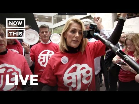 Protesters Rail Against the Government Shutdown at The Capitol | NowThis
