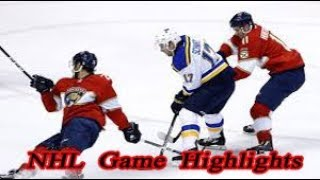 St. Louis Blues vs Florida Panthers - 11.12. NHL Highlights Season 2018-2019