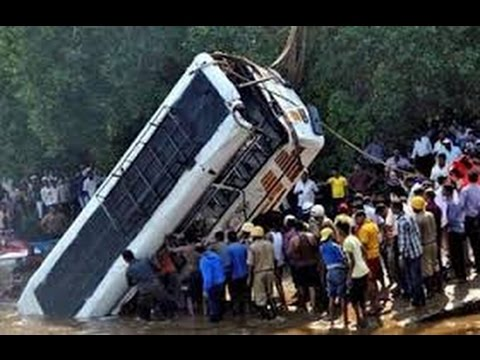 Bus Carrying 50 People Falls into Stream in J&K