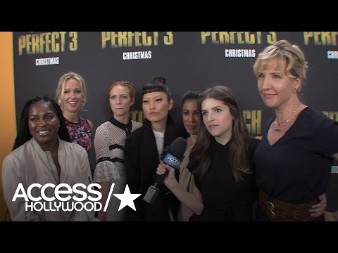 Exclusive: 'Pitch Perfect 3' Stars Share Their Enthusiasm For Newest Installment