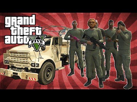 GTA 5 Online Fun - Military Base Takover! - 동영상