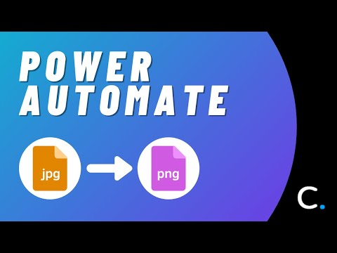How to Convert a JPG Image to PNG in Power Automate and Logic Apps