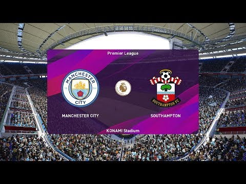 PES 2020 | Manchester City vs Southampton - England EFL Cup | 29 October 2019 | Full Gameplay HD