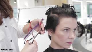 Szabó Imre Beauty Academy - Rövid göndör női hajvágás