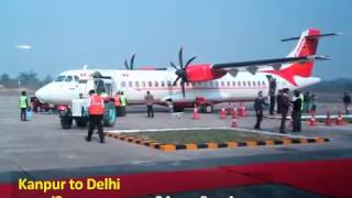 Kanpur to Delhi flight begins again after long wait !