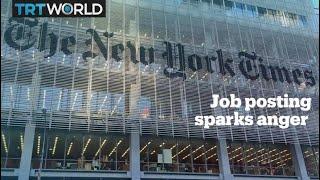 New York Times job posting for Nairobi chief sparks backlash