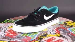 NIKE SB Stefan Janoski (GS) [BLACK / WHITE - TURBO GREEN]