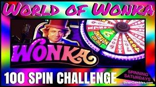 100 Spins on World of Wonka ✦ SPINNING SATURDAYS ✦ EVERY SATURDAY Slot Machine Pokies at Pechanga