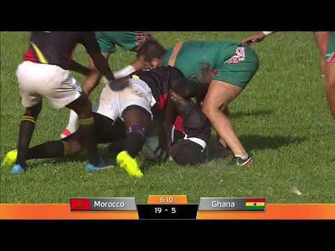 Maroc vs Ghana    RUGBY à 7    sem ref