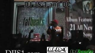 DJ JS-1 & OC live in NYC at NO SELLOUT release party