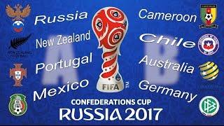 Кубок конфедераций 2017.Города,стадионы/ FIFA Confederations Cup 2017