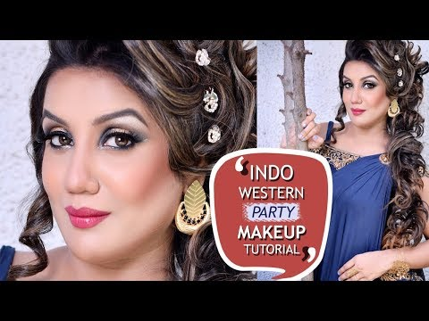 Indo Western Party Makeup Tutorial | Latest GLAM Makeup for Parties 2018 | Best Makeup Tutorials