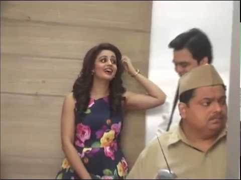 On Set 'May I Come In Madam', Sandeep Anand, Neha Pendse, Sapna thumbnail