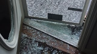 ANGRY GRANDPA SHATTERS FRONT DOOR!!