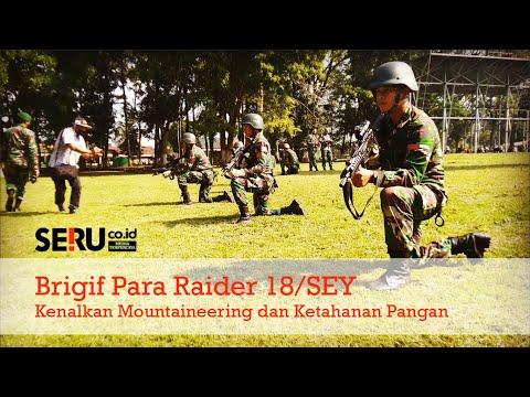 Brigif Para Raider 18/SEY Kenalkan Mountaineering dan Ketahanan Pangan kepada Media se-Malang Raya
