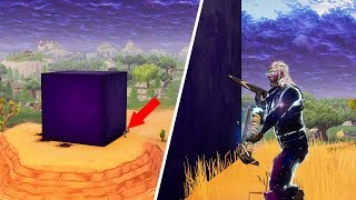 THE CUBE in Fortnite (What happens with Galaxy Skin?)