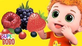 Fruits song for kids   Blue Fish Nursery Rhymes & kids songs