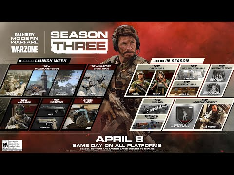 EVERYTHING COMING IN SEASON 3 OF CALL OF DUTY MODERN WARFARE!