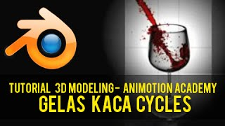 Video Tutorial Blender 3D Bahasa Indonesia Membuat Gelas Kaca