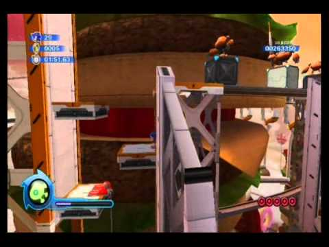 Sonic Colors: Sweet Mountain Red Rings (Acts 1-3)