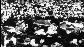 Queen Victoria visits Dublin, Ireland HD Stock Footage