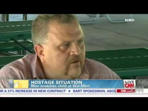 Walmart Hostage Taker Killed at Point Blank Range