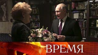 Владимир Путин лично поздравил с премией выдающегося филолога Людмилу Вербицкую.