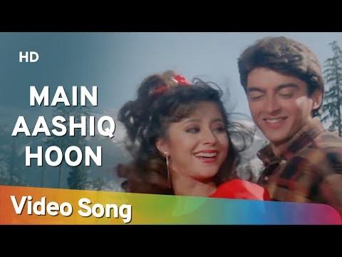 Main Aashiq Hoon (HD)   Aa Gale Lag Ja (1994)   Jugal Hansraj   Urmila Matondkar   Bollywood Song