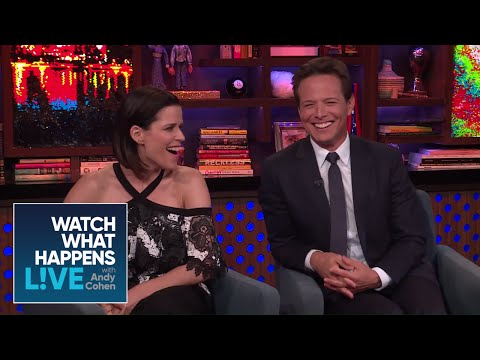 Scott Wolf And Neve Campbell On Their 'Party Of Five' Castmates   WWHL