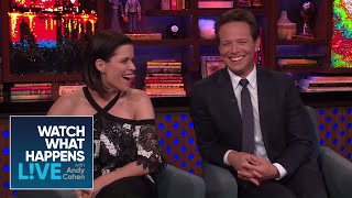 Scott Wolf And Neve Campbell On Their 'Party Of Five' Castmates | WWHL Poster