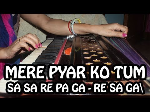 How to Play Mere Pyar Ko Tum on Harmonium (Tutorial with notation) - Rashmi Bhardwaj