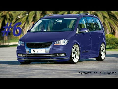 virtual tuning 6 2007 volkswagen touran youtube. Black Bedroom Furniture Sets. Home Design Ideas
