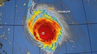 Hurricane Florence forecast track