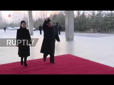 North Korea: Kim Jong-un departs Pyongyang in surprise trip to China