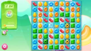 🍭🍬Candy crash jelly LV010 Прохождение, уровень 10, три в ряд, развивающая игра на андроид